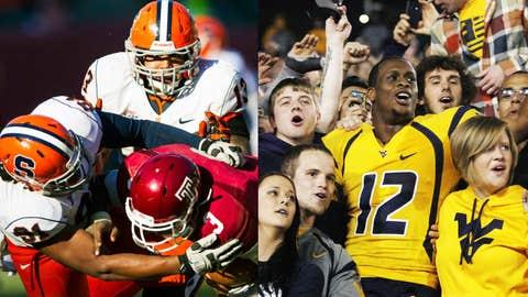 Pinstripe Bowl: Syracuse (7-5) vs. West Virginia (7-5), Dec. 29, 3:15 p.m. ET