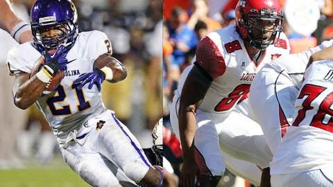 New Orleans Bowl: East Carolina (8-4) vs. Louisiana-Lafayette (8-4), Dec. 22, 12 p.m. ET