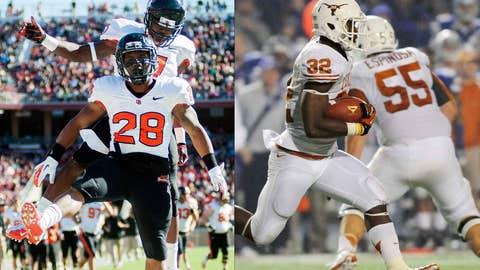 Alamo Bowl: Oregon State (9-3) vs. Texas (8-4), Dec. 29, 6:45 p.m. ET