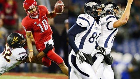 New Mexico Bowl: Arizona (7-5) vs. Nevada (7-5), Dec. 15, 1 p.m. ET