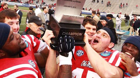 ... and the trophy