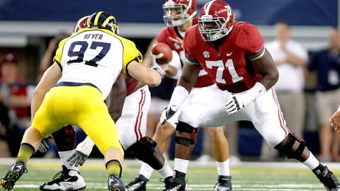 Reloading Alabama's offensive line