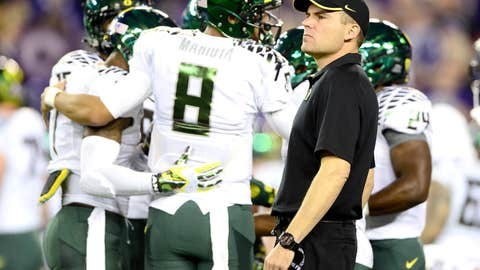Transitioning from Kelly to Helfrich at Oregon
