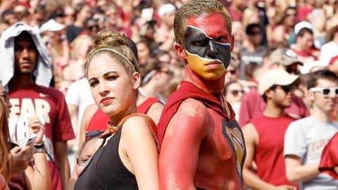 Fans of the Florida State Seminoles