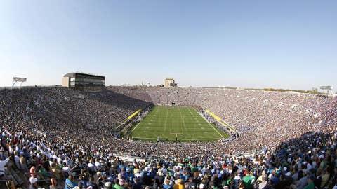 Indiana -- Notre Dame Stadium