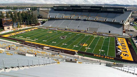 Wyoming -- War Memorial Stadium