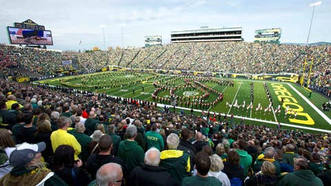 Oregon -- Autzen Stadium