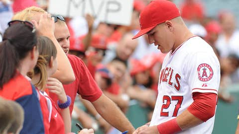 No. 1 - Mike Trout