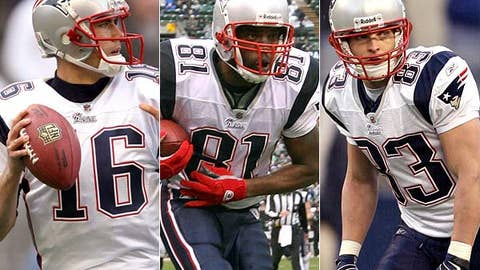 Start Matt Cassel, Randy Moss and Wes Welker