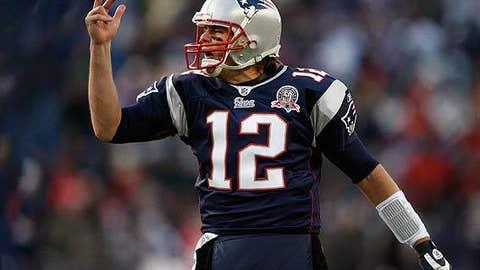 Tom Brady, New England