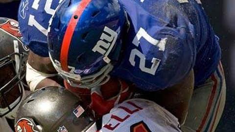 Brandon Jacobs, New York Giants