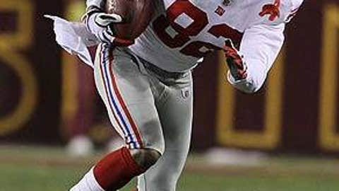 Mario Manningham, New York Giants