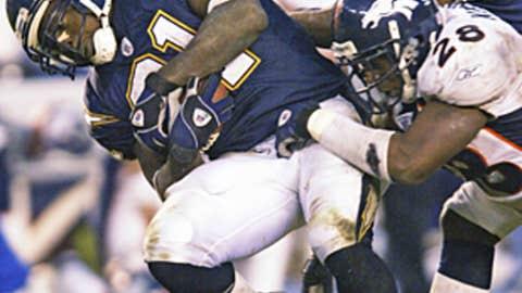 LaDainian Tomlinson, Week 13 (Dec. 1), 2002 vs. Denver (56.1 points)