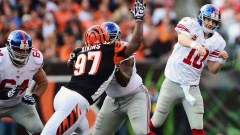 Dud - Eli Manning vs CIN