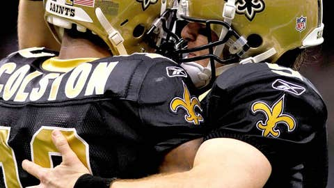 5. Brees and Colston