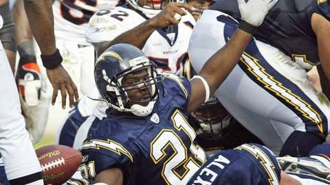 LaDainian Tomlinson, Week 13 - 2002 vs. Denver (56.1 points)