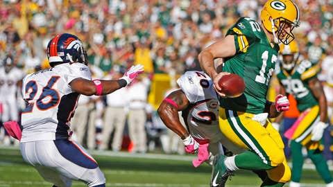 Aaron Rodgers, Week 4 - 2011 vs. Broncos (53.5 points)