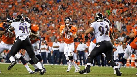 Peyton Manning, Week 1 - 2013 vs. Ravens (60.3 points)