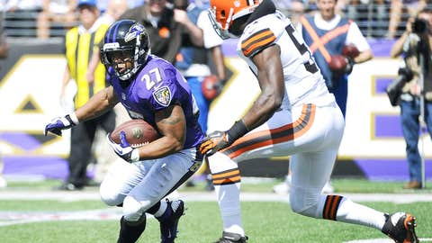 Dud - Ray Rice vs. CLE