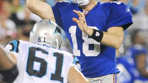 Dud - Eli Manning vs. CAR