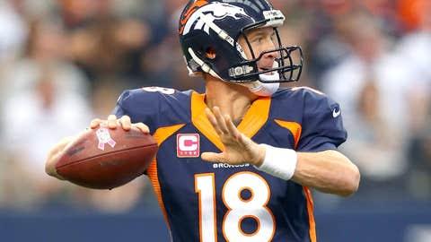 Denver: QB Peyton Manning (39)