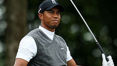 First round (Friday): Tiger Woods
