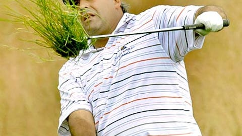 First round (Friday): Angel Cabrera