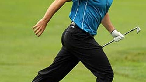 First round (Friday): Sergio Garcia