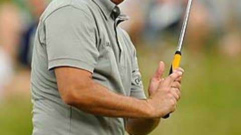 First round (Friday): Phil Mickelson