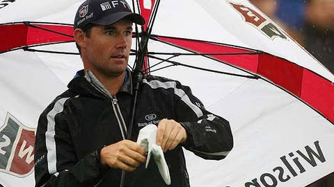 First round: Padraig Harrington
