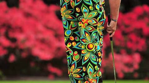 Golf fashion can be a real trip