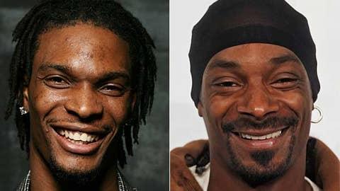 Chris Bosh and Snoop Dogg