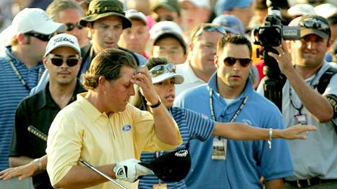 Phil Mickelson, 2006 U.S. Open