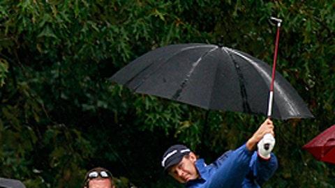 Through the raindrops