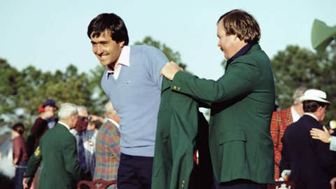 Winning his second Masters