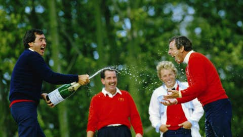 Changing Europe's fortunes in the 1985 Ryder Cup