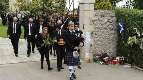 Seve Ballesteros funeral