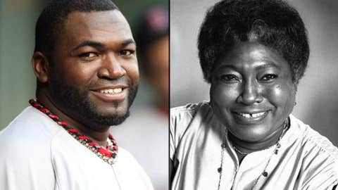 David Ortiz and Esther Rolle