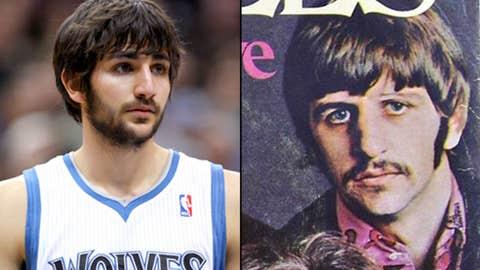 Ricky Rubio and Ringo Starr