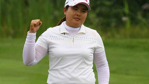 Inbee Park's putting clinic