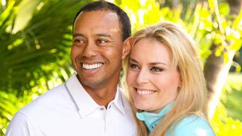 Lindsay Vonn and Tiger Woods (broken up)