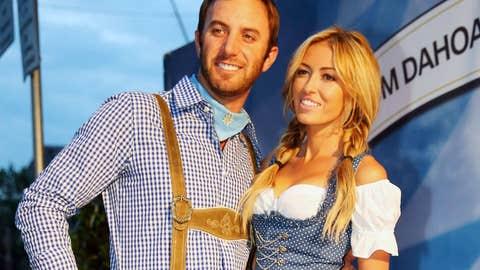 Paulina Gretky and Dustin Johnson