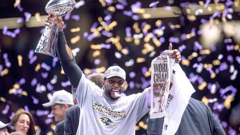 Ray Lewis -- Baltimore Ravens, Super Bowl XLVII