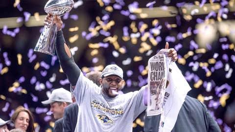 Ray Lewis -- Baltimore Ravens, Super Bowl XLVII