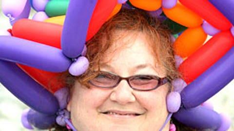 Balloons everywhere