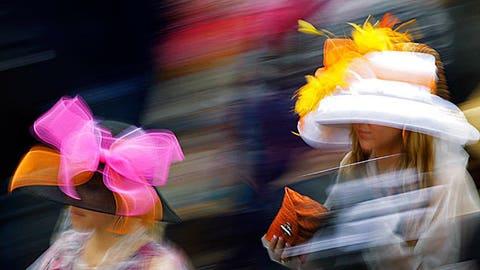 Kentucky Derby Hats (AP Photo/David J. Phillip)