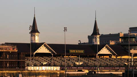 The twin spires