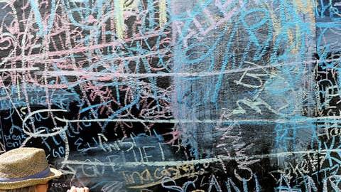 Preakness graffiti