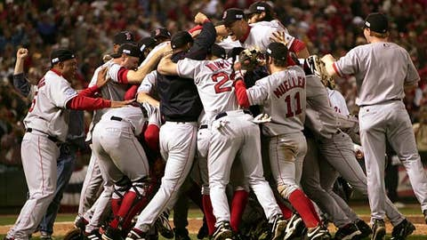 2004: Red Sox break the curse