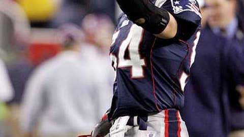 2005: Bruschi shows his heart's strength